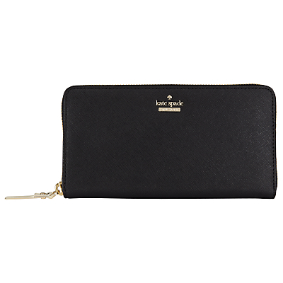 kate spade new york Cameron Street Lacey Leather Zip Around Purse