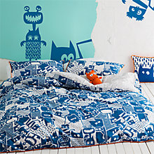 Buy Kas Howie Duvet Cover and Pillowcase Set, Single Online at johnlewis.com