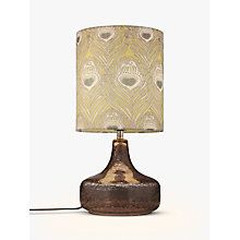 Buy Liberty Fabrics & John Lewis Caesar Chinois Crackle Table Lamp, Grey Online at johnlewis.com