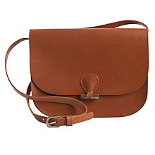 Buy Pieces Lasanne Leather Shoulder Bag Online at johnlewis.com