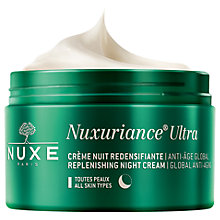 Buy NUXE Nuxuriance® Ultra Global Anti-Ageing Replenishing Night Cream, 50ml Online at johnlewis.com