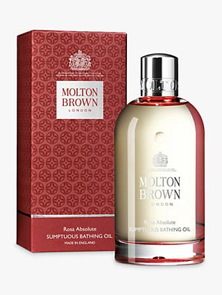 Molton Brown Rosa Absolute Sumptuous Bathing Oil, 200ml