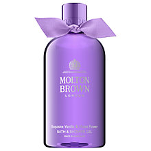 Buy Molton Brown Exquisite Vanilla & Violet Flower Bath & Shower Gel, 300ml Online at johnlewis.com