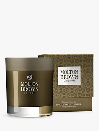 Molton Brown Tobacco Absolute Single Wick Scented Candle, 180g