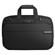 Buy Briggs & Riley Baseline Expandable Cabin Bag, Black Online at johnlewis.com