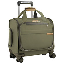 Buy Briggs & Riley Baseline 4-Wheel 39.4cm Cabin Suitcase Online at johnlewis.com