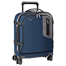 Buy Briggs & Riley BRX Explore International Wide-Body Spinner Cabin Case, Blue Online at johnlewis.com
