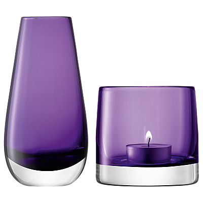 LSA International Bud Vase and Tealight Holder