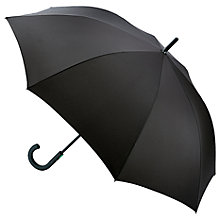 Buy Fulton Typhoon Walking Umbrella, Black Online at johnlewis.com