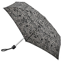 Buy Morris & Co Strawberry Thief Umbrella, Grey/Black Online at johnlewis.com
