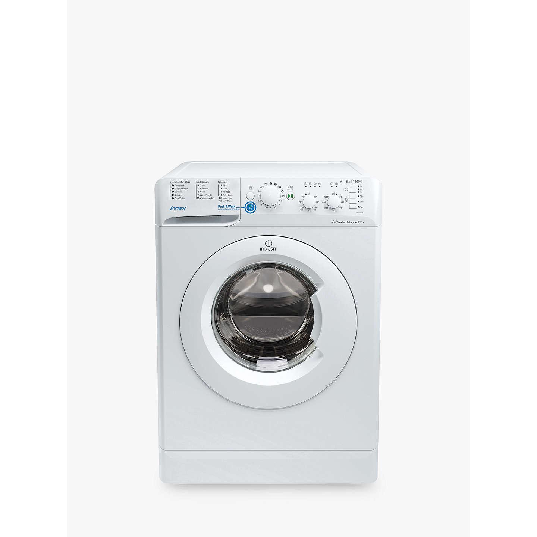 BuyIndesit BWSC61252WUK Innex Freestanding Washing Machine, 6kg Load, A++  Energy Rating, 1200rpm Spin ...