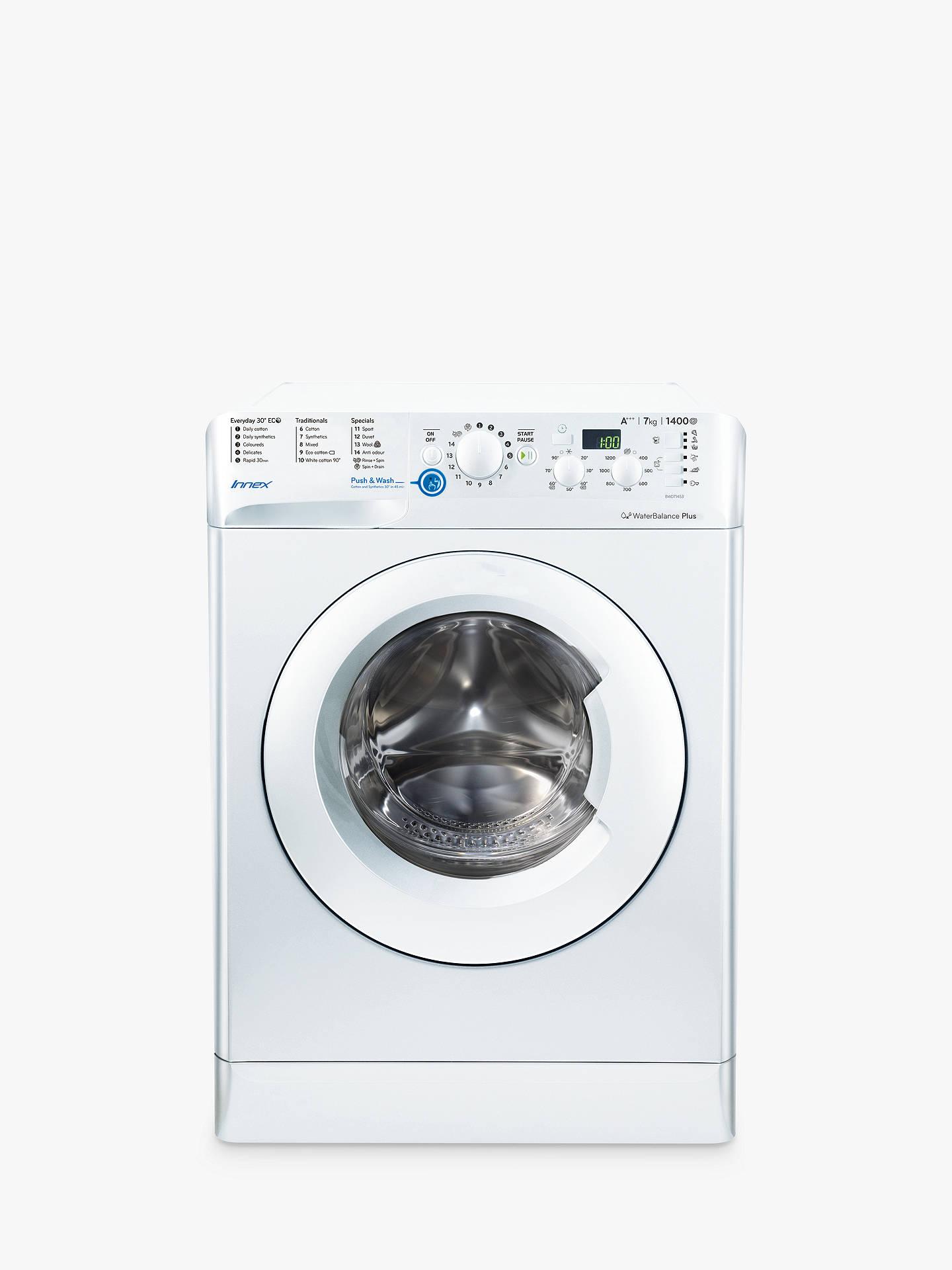 Indesit Innex Bwd71453wuk Freestanding Washing Machine 7kg Load A