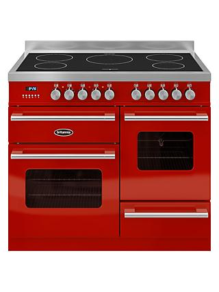 Britannia RC-10XGI-DE Delphi Modern Induction Hob Range Cooker
