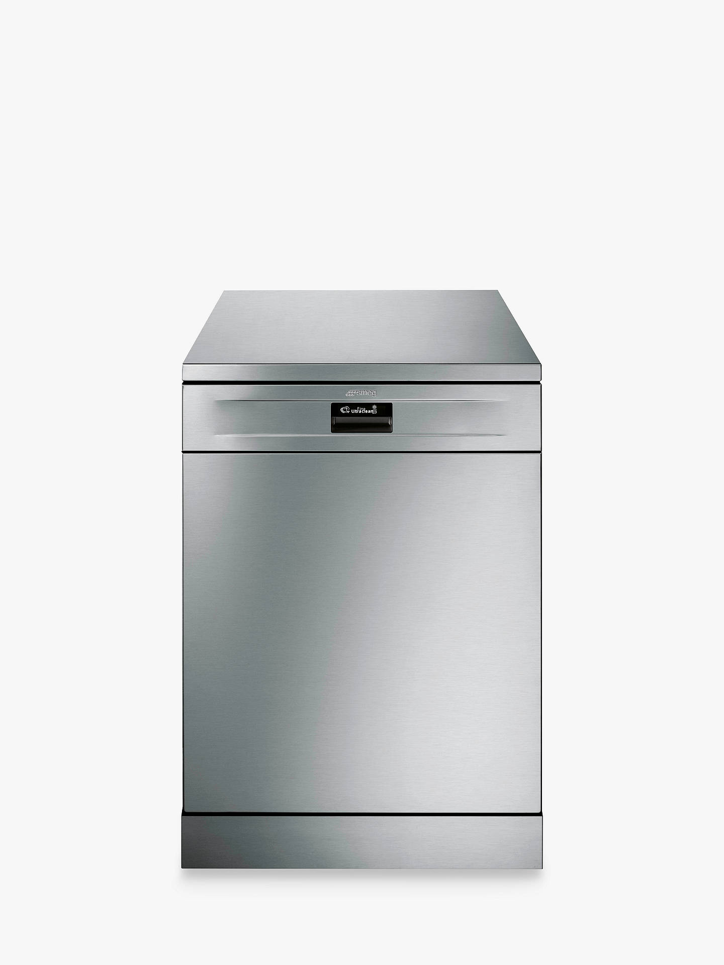BuySmeg DF614PTX Freestanding Dishwasher, Stainless Steel Online at johnlewis.com