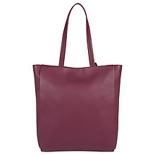 Buy Jaeger Icon Leather Tote Bag Online at johnlewis.com