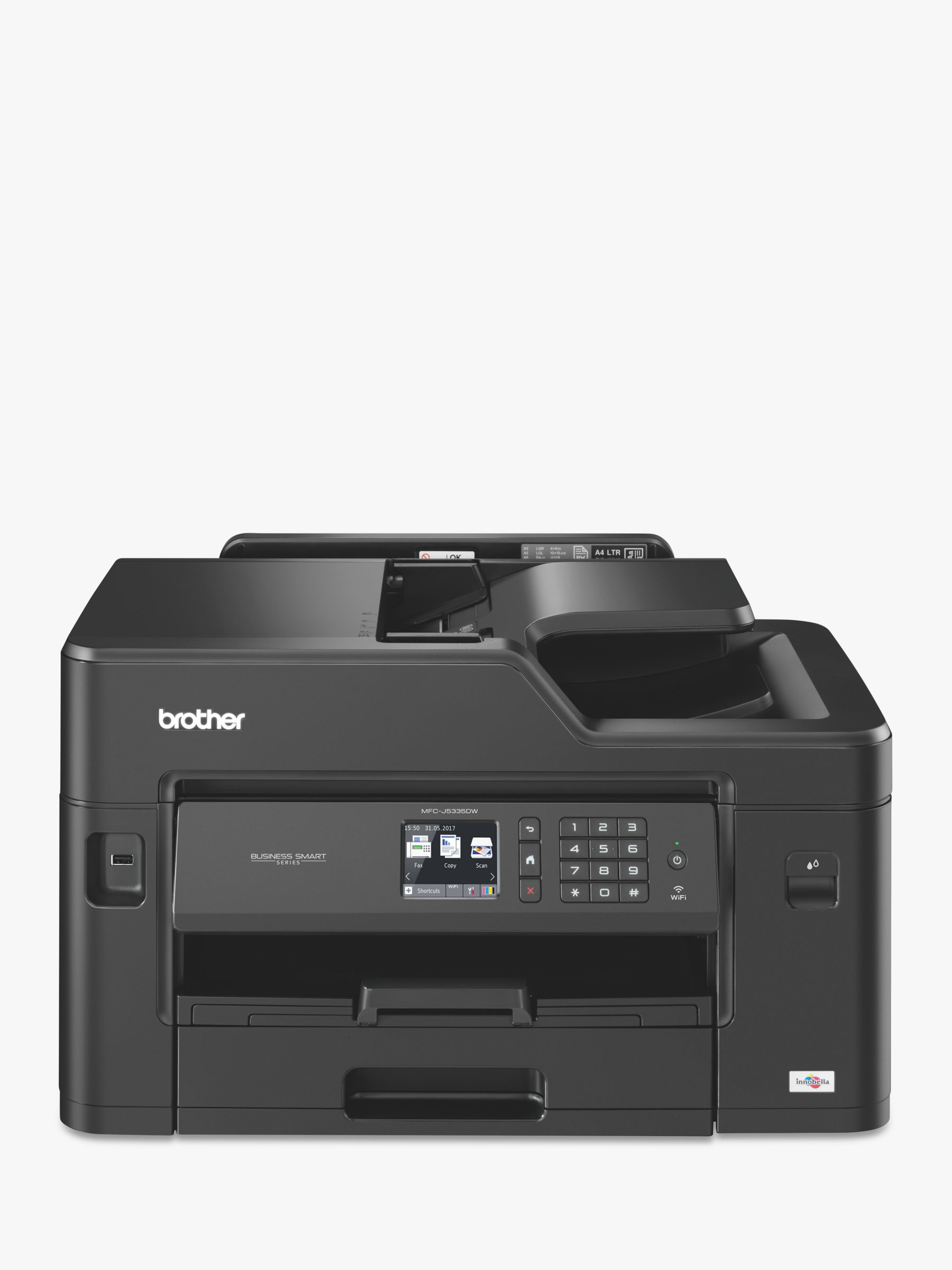 Brother Brother MFC-J5335DW Wireless All-in-One Colour Inkjet Printer & Fax Machine with A3 Printing