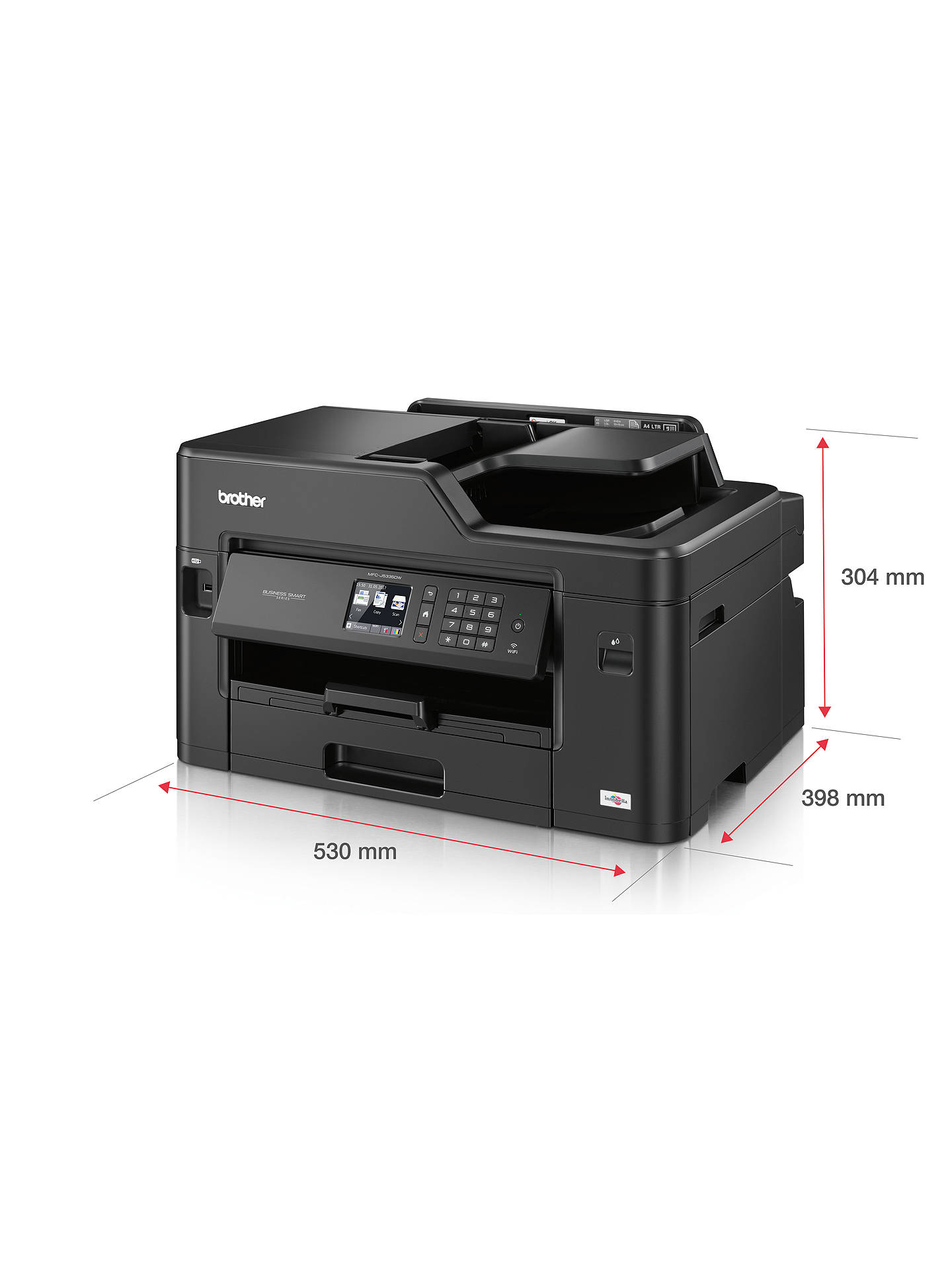 ... BuyBrother MFC-J5335DW Wireless All-in-One Colour Inkjet Printer   Fax  Machine dd211a4c7f