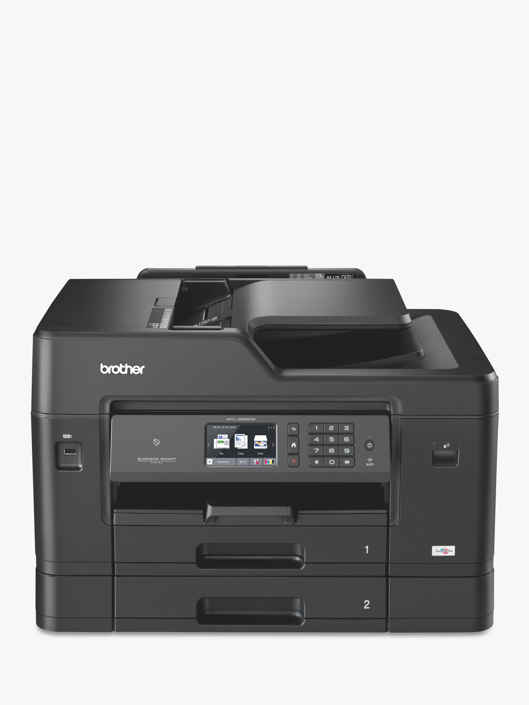 Brother Brother MFC-J6930DW Wireless All-in-One A3 Colour Inkjet Printer & Fax Machine with NFC