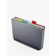 Buy Joseph Joseph Index Chopping Board, Large, Grey Online at johnlewis.com