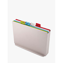 Buy Joseph Joseph Index Chopping Board, Large, Silver Online at johnlewis.com