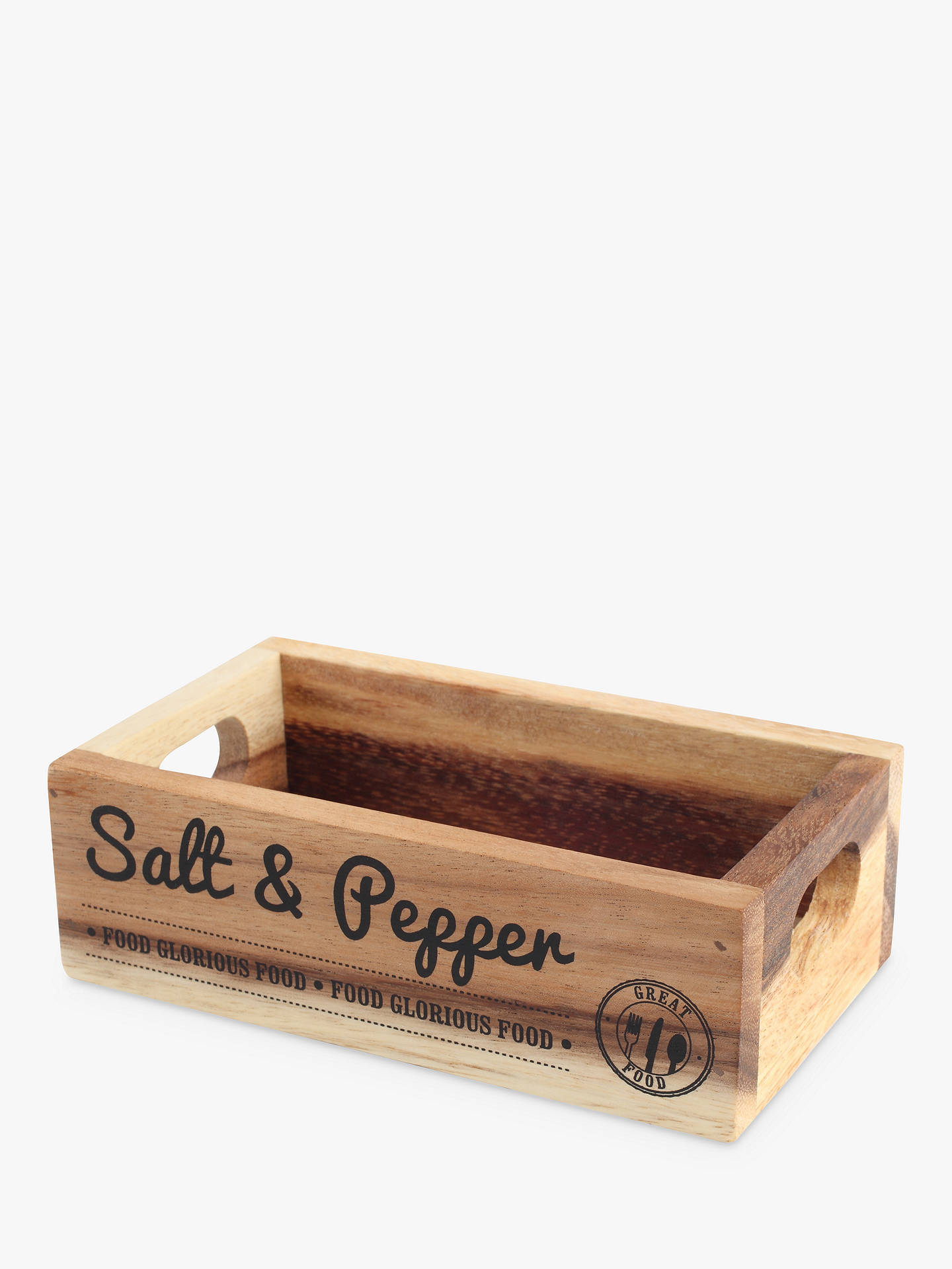 Buy T & G Salt and Pepper Crate Online at johnlewis.com