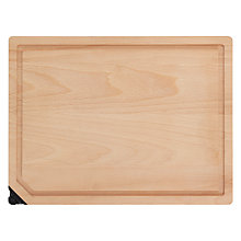 Buy John Lewis FSC Beech Chopping Board with Knife Sharpener Online at johnlewis.com