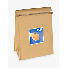 Buy LEON Orange Paper Lunch Coolbag Online at johnlewis.com