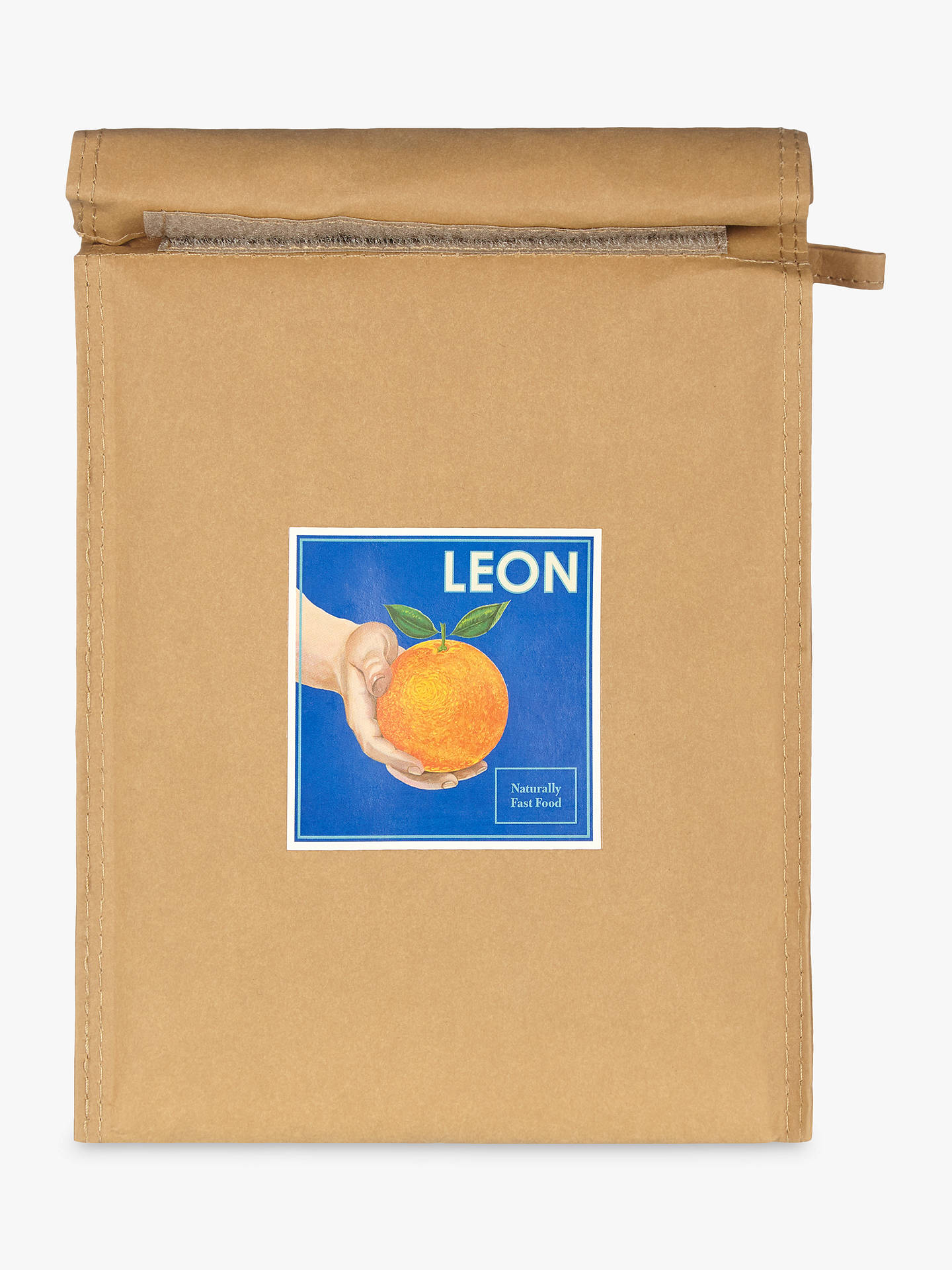 BuyLEON Orange Paper Lunch Cooler Bag Online at johnlewis.com