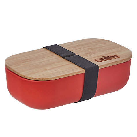 Buy LEON Rectangle Bamboo Lunch Pot Online at johnlewis.com