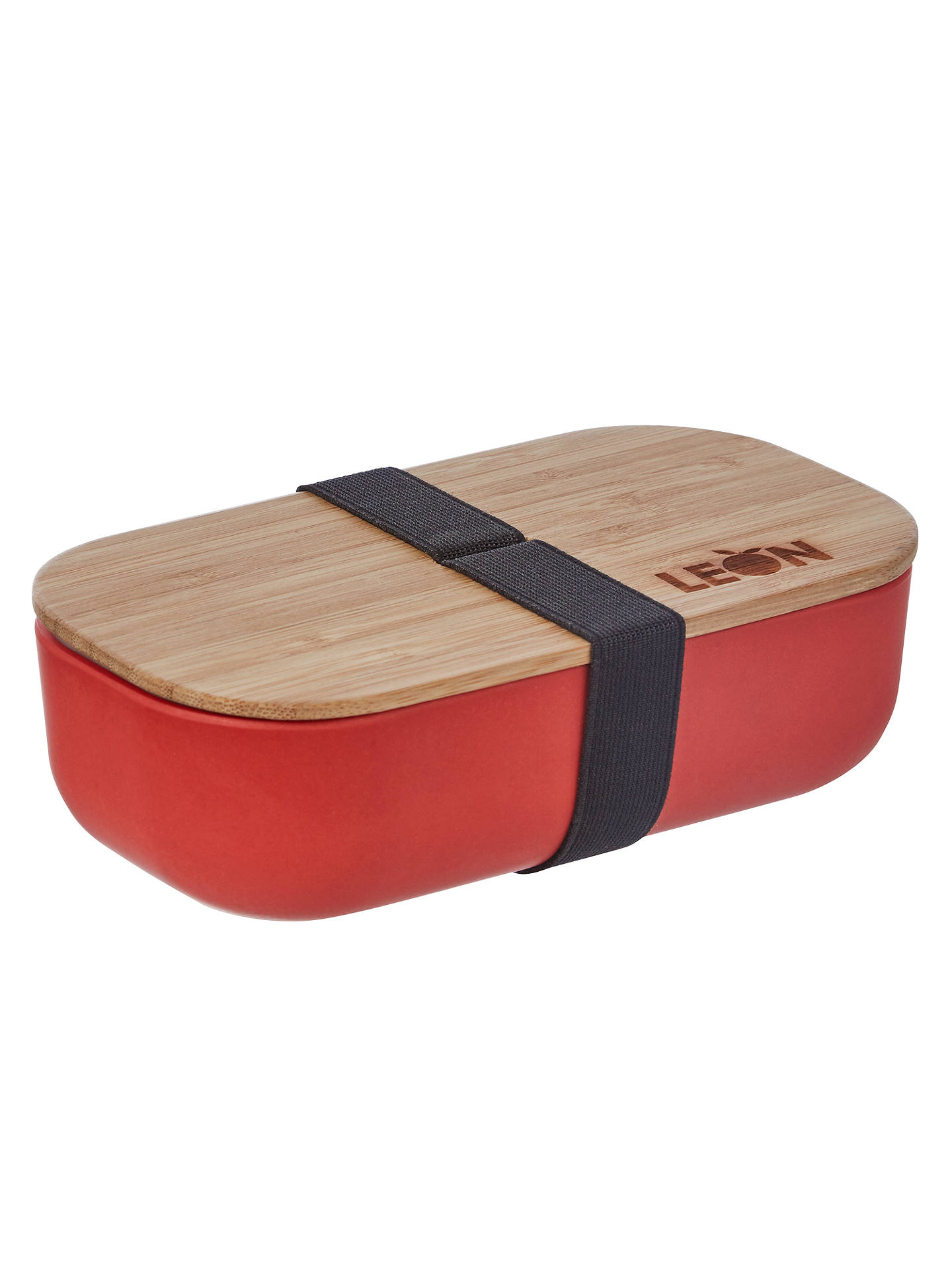 Leon Rectangle Bamboo Lunch Pot At John Lewis Partners