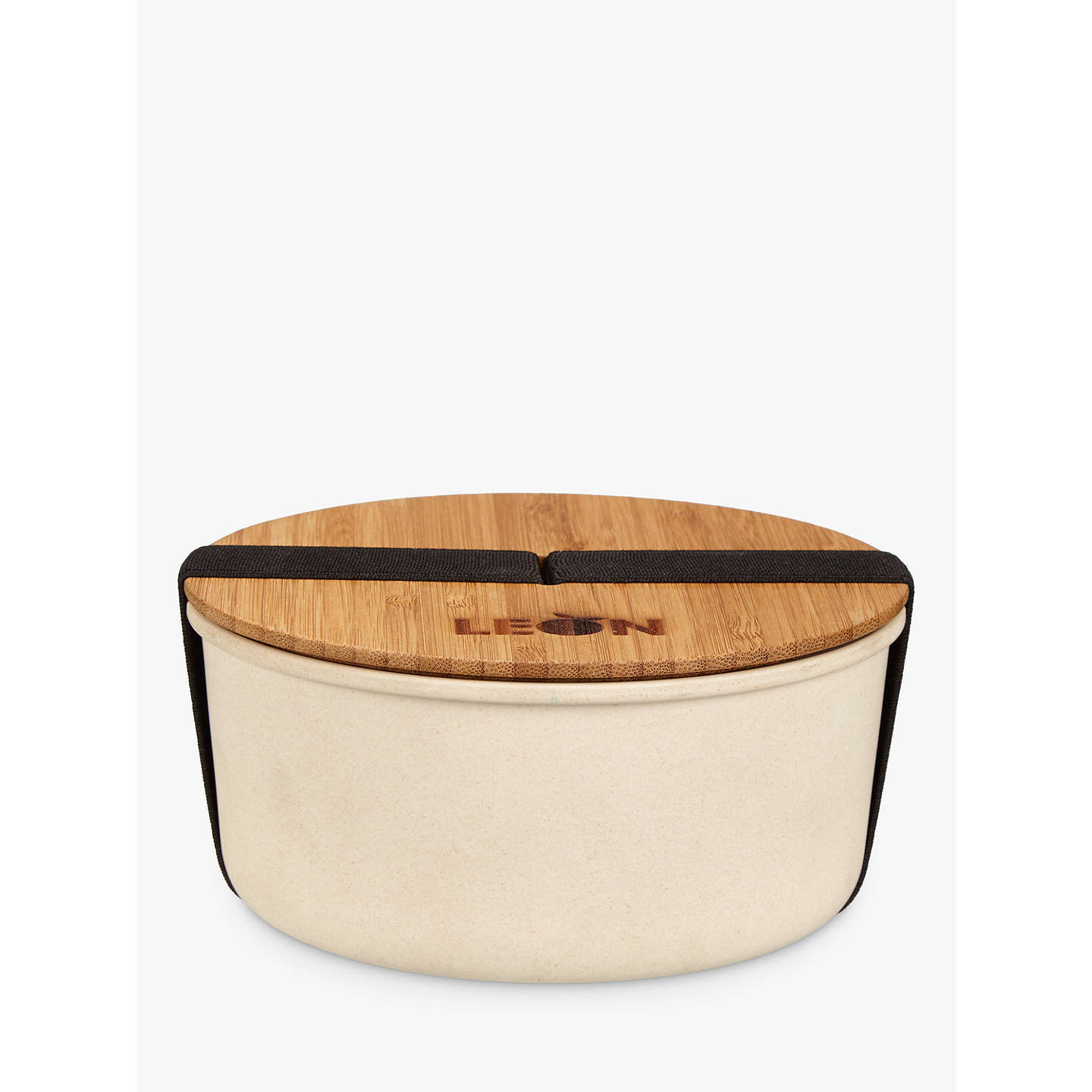 BuyLEON Round Bamboo Lunch Pot Online at johnlewis.com