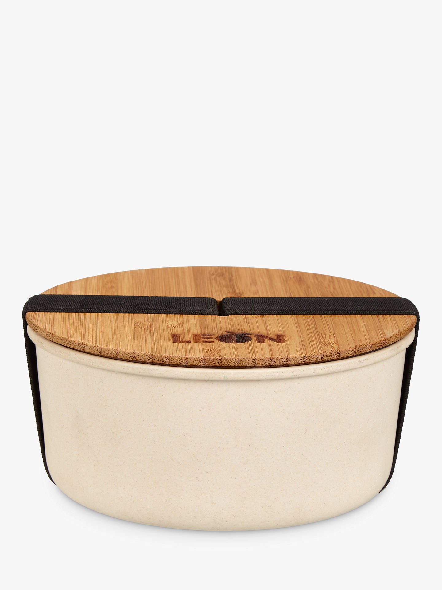 LEON Round Bamboo Lunch Pot