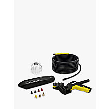 Buy Kärcher PC20 Gutter and Pipe Cleaning Set Online at johnlewis.com