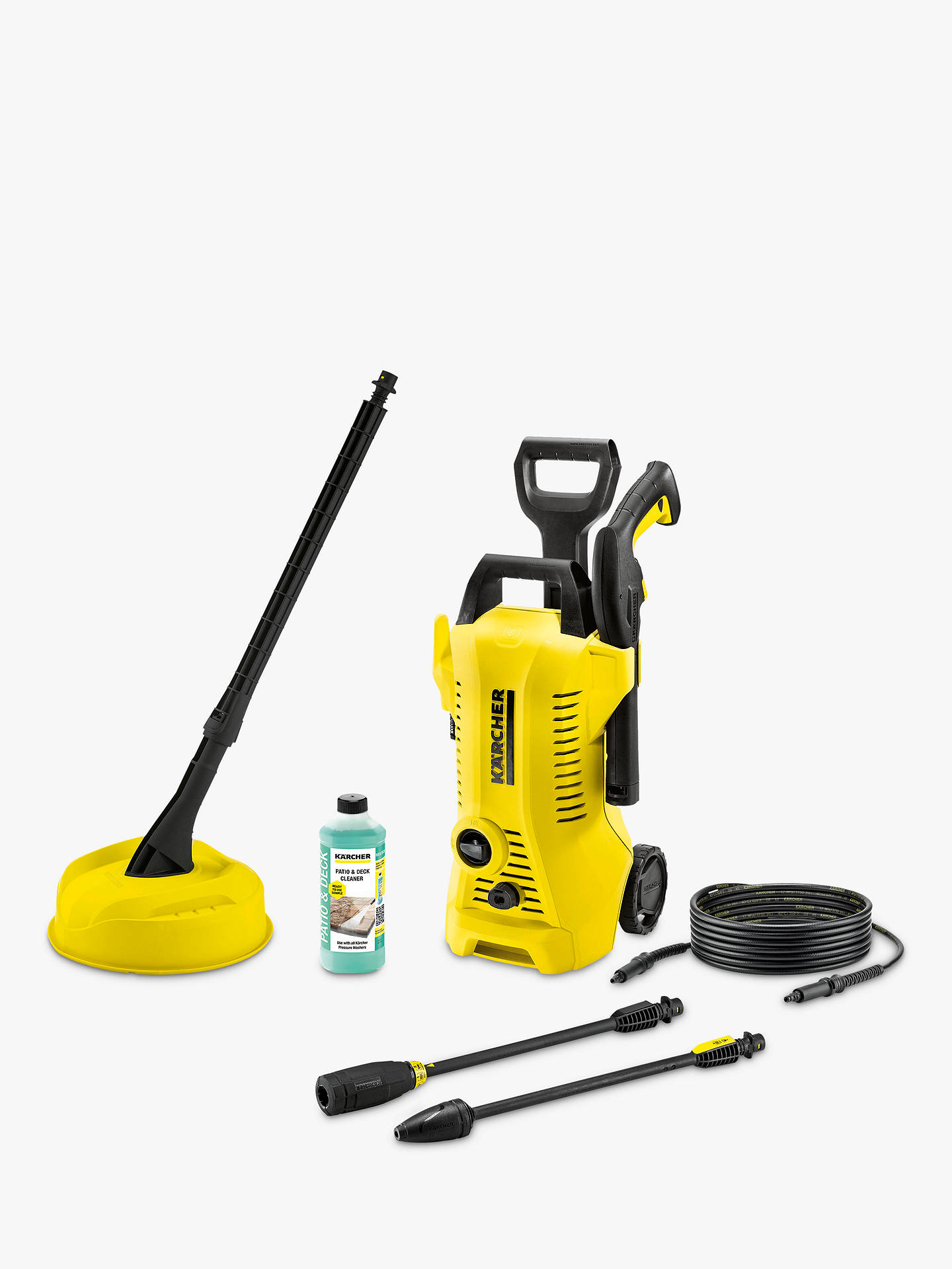 k rcher k2 full control home pressure washer at john lewis. Black Bedroom Furniture Sets. Home Design Ideas