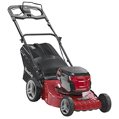 Product photo of Mountfield s46pdli self propelled 80v battery lawnmower