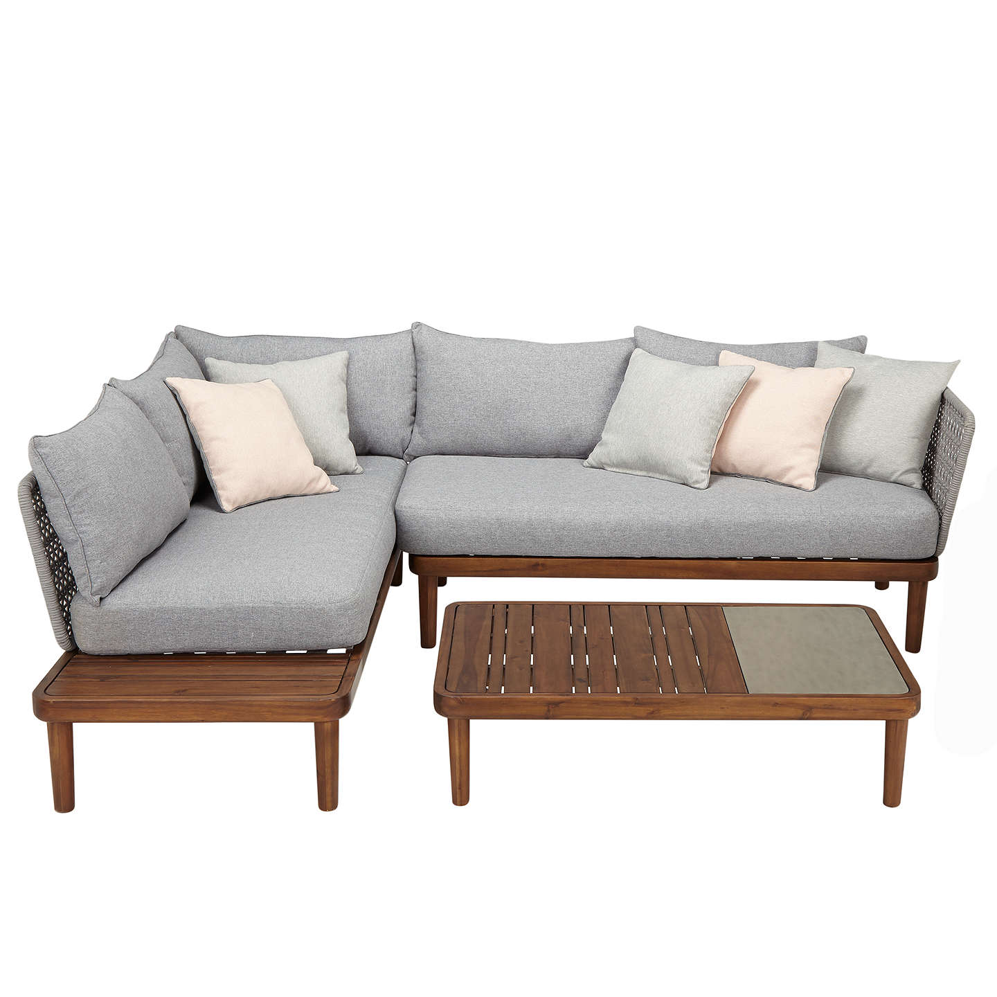 Design project by john lewis lounging chaise sofa for Sofa table john lewis