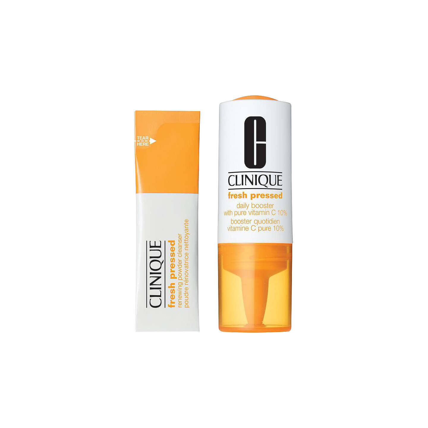 BuyClinique Fresh Pressed 7-Day System with Pure Vitamin C Set Online at johnlewis.com