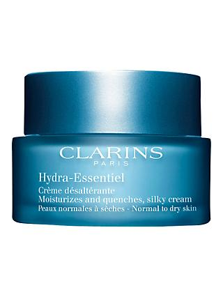 Clarins Hydra-Essentiel Silky Cream, Normal/Dry Skin, 50ml