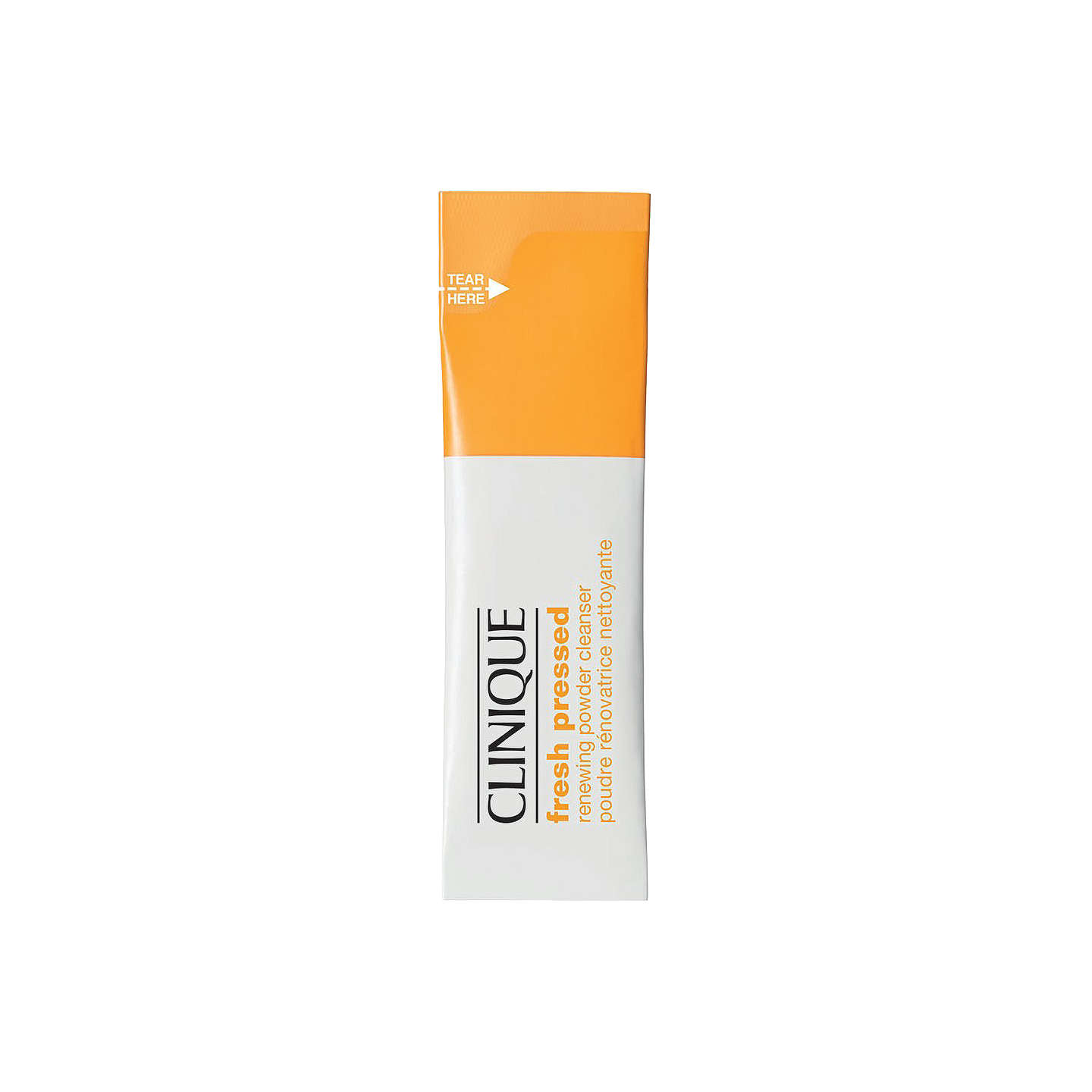 BuyClinique Fresh Pressed Renewing Powder Cleanser with Pure Vitamin C, 28 x 0.5g Online at johnlewis.com