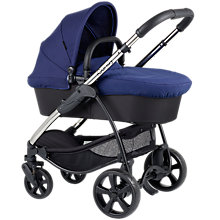 Buy iCandy Strawberry Pushchair with Chrome Chassis & Carrycot, Royal Online at johnlewis.com