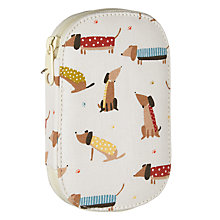 Buy John Lewis Sausage Dog Print Sewing Kit, Cream/Multi Online at johnlewis.com