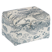 Buy John Lewis Heartwood Scenic Print Medium Sewing Basket, Grey Online at johnlewis.com