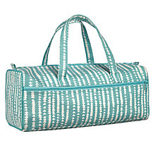 Buy John Lewis Xander Print Rectangular Knitting Bag, Blue Online at johnlewis.com