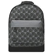 Buy Mi-Pac Dice Backpack, Charcoal Online at johnlewis.com
