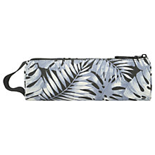 Buy Mi-Pac Tropical Leaf Pencil Case, Grey Online at johnlewis.com