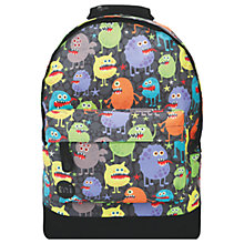 Buy Mi-Pac Monsters Mini Backpack, Multi Online at johnlewis.com