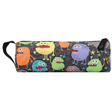 Buy Mi-Pac Monsters Pencil Case, Multi Online at johnlewis.com