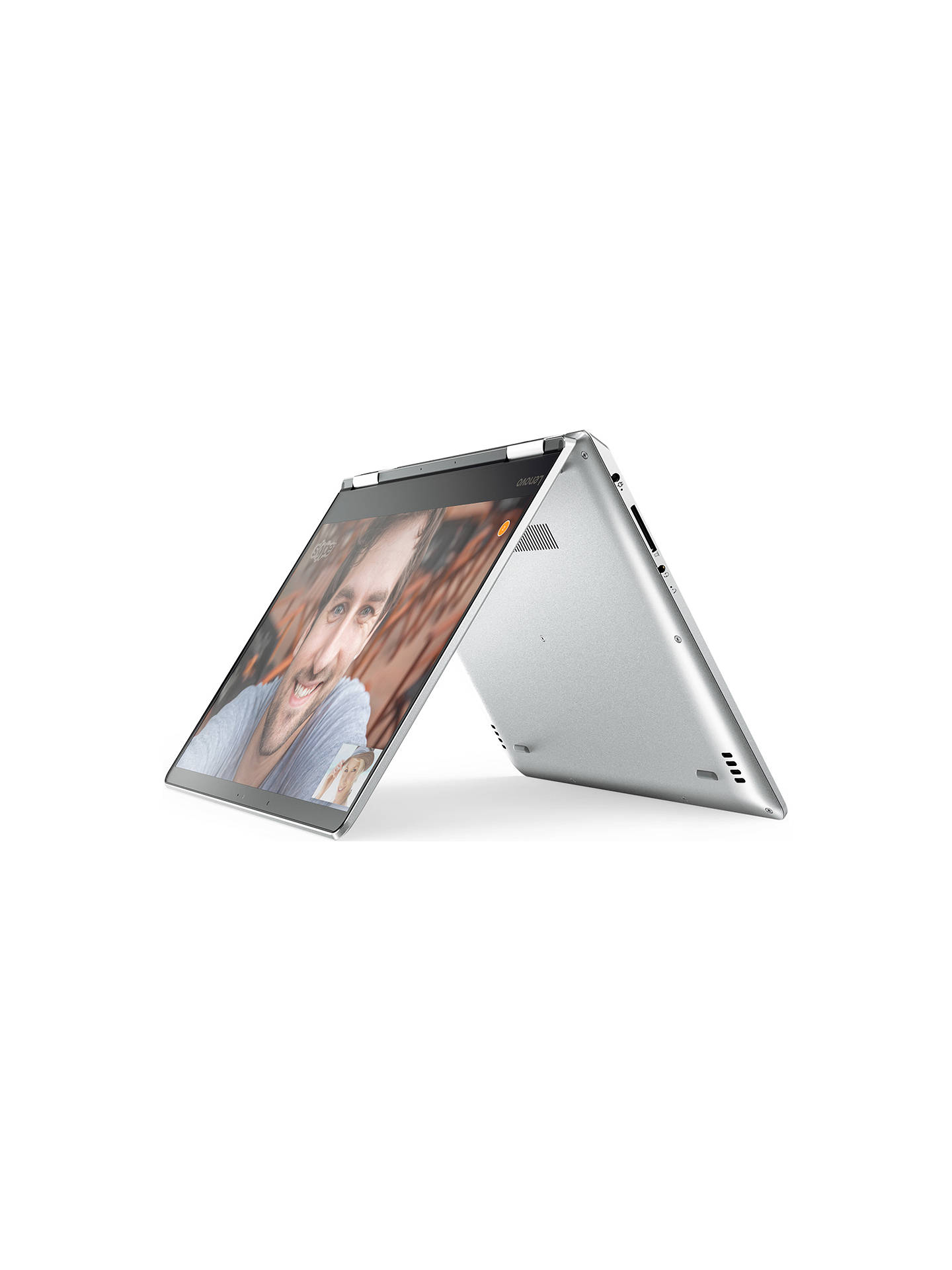 "BuyLenovo Yoga 710 Convertible Laptop, Intel Core M3, 4GB RAM, 128GB SSD, 11.6"" Full HD, Silver Online at johnlewis.com"
