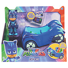 Buy PJ Masks Catboy Figure and Cat Car Online at johnlewis.com