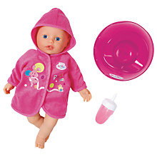 Buy Zapf My Little Baby Born Potty Training Doll Online at johnlewis.com